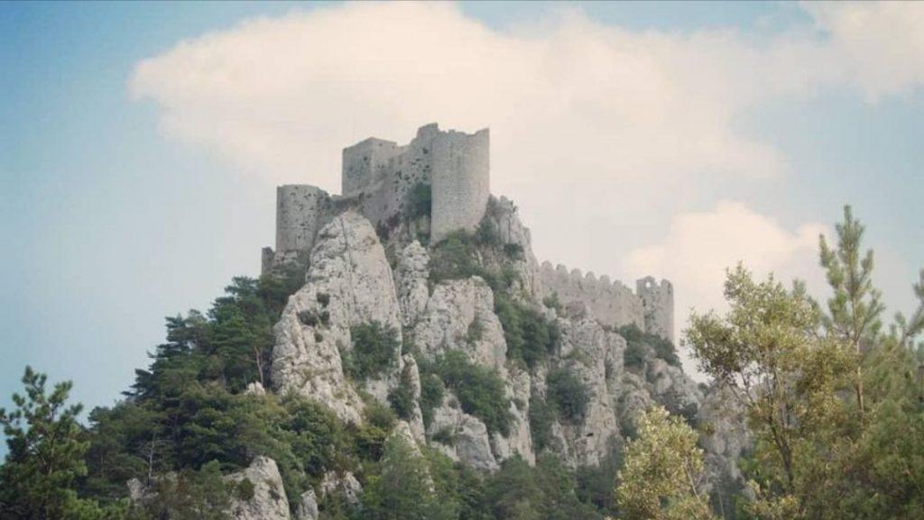 Chateau de Monstegur, Prancis Selatan
